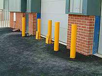 Fixed and removable heavy duty bollards